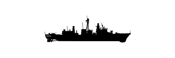 122er Fregatten Marine-Siegelringe