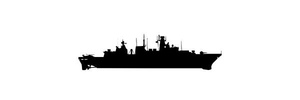 123er Fregatten Marine-Siegelringe
