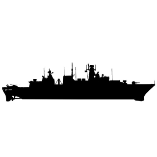 Unsere 124er Fregatten Marine-Wappenringe...