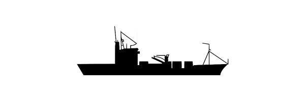 Navy Rings of German Tender & Replenishment Oiler