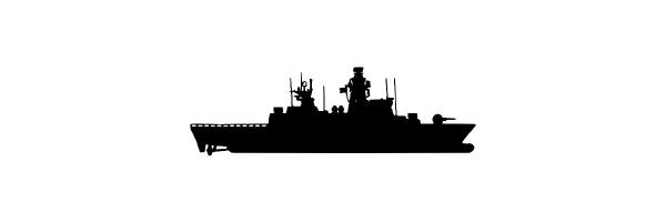 Navy Rings of German Corvettes
