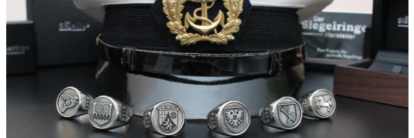 Military Navy Rings