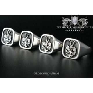 Have your own signet ring made - out of silver...