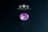 """F207"" Frigate Bremen Coat Navy Signet Ring size 70 tourmaline pink"