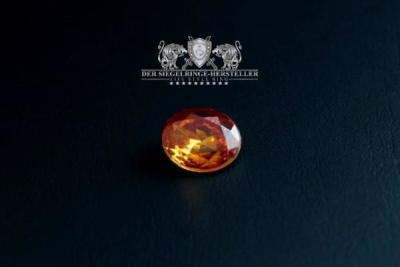 Traditional ring of sailors special size XXL topaz yellow