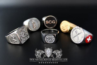 Custom Signet Ring of Steel