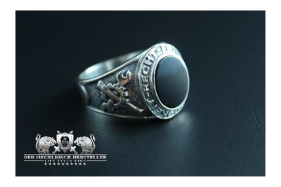 Traditional ring of German army repair service