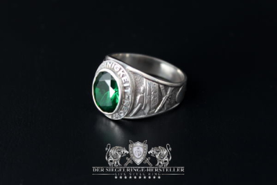 Traditional ring of German tank grenadiers size 63...