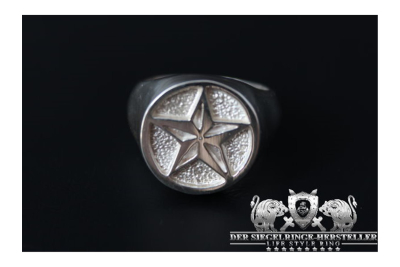 Silber-Ring des Marine-Offiziers