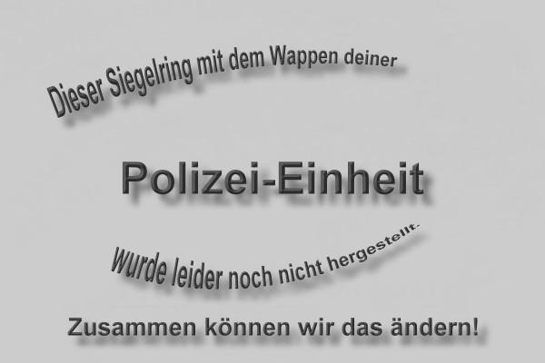 Polizei-Ring Beispiel Größe 60