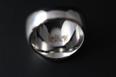 Saint Michael Police Ring Size 69