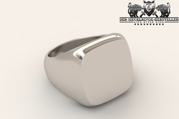 Custom Signet Ring of Silver