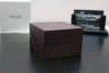 Jewellery Box of real wood & cream colour leather